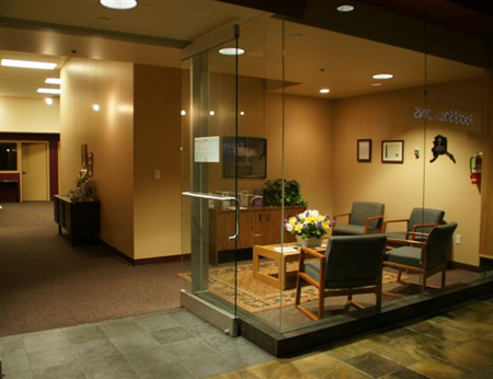 RADACT's reception area